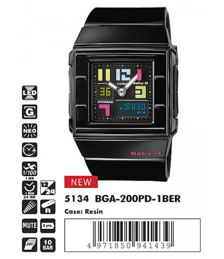 Casio BGA-200PD-1B