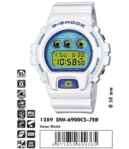 Casio DW-6900CS-7E