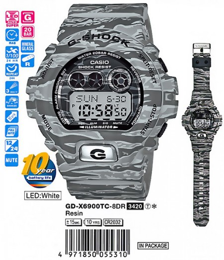 Casio GD-X6900TC-8E